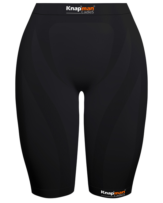 Knap'man Ladies Zoned Compression Short USP 45% zwart