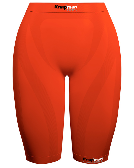 Knap'man Ladies Zoned Compression Short USP 45% oranje